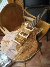 Spalted Maple Les Paul